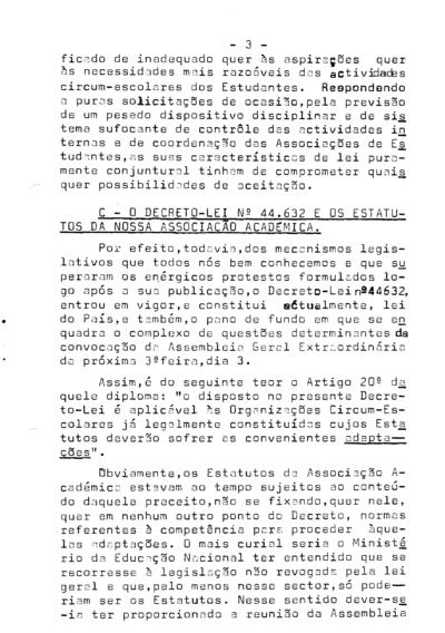 Informação Interna n.º 2 da Associação Académica da Faculdade de Direito de Lisboa