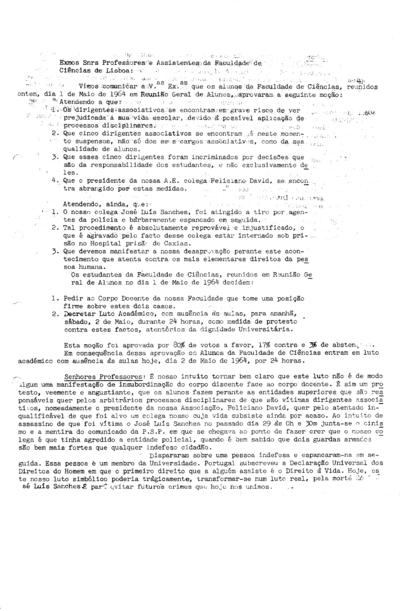 Comunicado das Comissões de Apoio aos Dirigentes Associativos