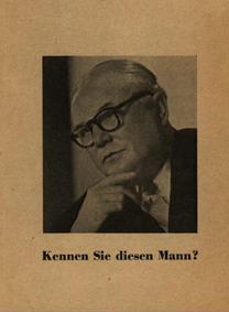 Kennen Sie diesen Mann?