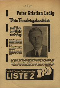 Dein Bundestagskandidat ruft Dich zur Wahl am 14. Aug. [Serie]