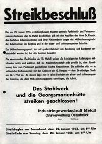 Streikbeschluß