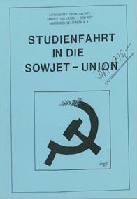 Studienfahrt in die Sowjet-Union