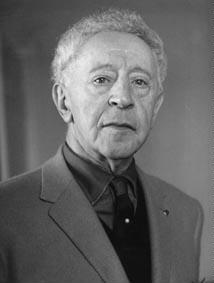 Porträt polnischer Pianist Arthur Rubinstein