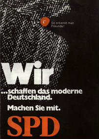 Wir ... schaffen das moderne Deutschland. Machen Sie mit.