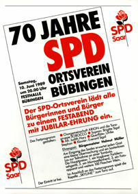70 Jahre SPD Ortsverein Bübingen