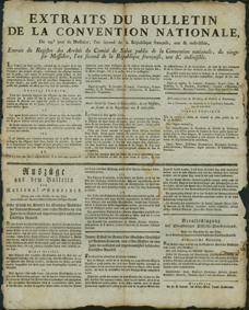 Auszüge aus dem Bulletin des National-Konvents.
