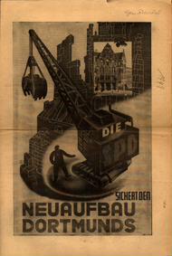 Die SPD sichert den Neuaufbau Dortmunds