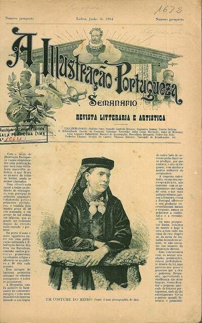 A illustração portugueza: semanario. revista litteraria e artistica