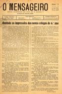 O mensageiro: jornal académico do Liceu de D. Manuel II