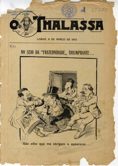O Thalassa: [semanario humoristico e de caricaturas