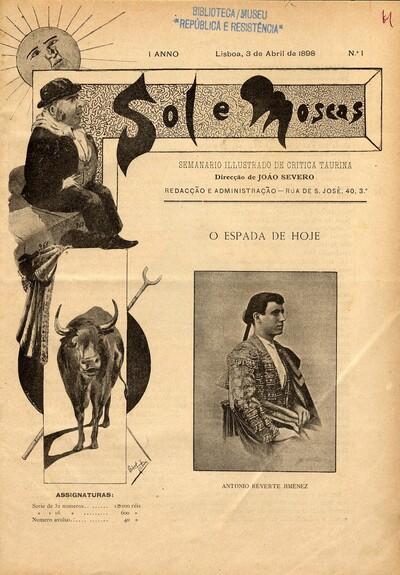 Sol e moscas: semanario illustrado de critica taurina