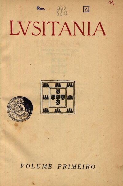 Lusitania: revista de estudos portugueses