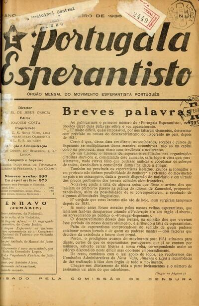 Portugala esperantisto