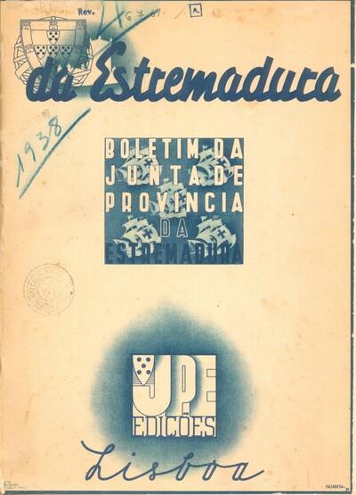 Da Estremadura: boletim da Junta de Província da Estremadura