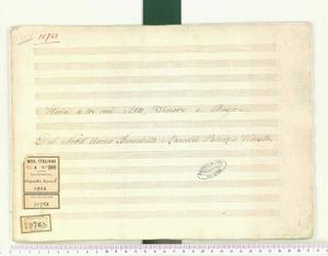 Gloria (Gloria a tre voci Alto, Tenore, e Basso / Del Nobil Uomo Benedetto Marcello Patrizio Veneto)