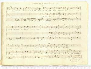 Confitebor tibi Domine (Salmo Confitebor etc. tratto dal salmo XXIV di Marcello)