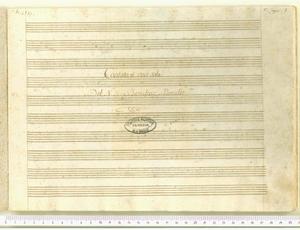 O d'un sasso umido figlio (Cantata a' voce sola / Del N. H. Benedetto Marcello)