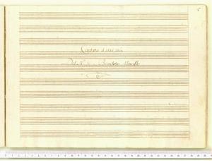 Legato da un bel crin (Cantata / a voce sola / Del N. H. Benedetto Marcello)