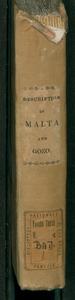 Description of Malta and Gozo