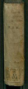 2: Itinerarii Italiae pars secunda. Roma eiusq. admiranda, cum diuina, tum humana