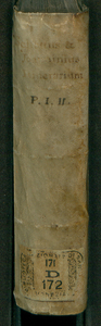3: Itinerarii Italiae pars tertia. Iter Roma Neapolim. indeq. puteolos. et reditus tibur