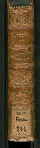 Voyage d'un francois en Italie, fait dans les annees 1765 & 1766. Contenant l'histoire & les anecdotes les plus singulieres de l'Italie, & sa description. 4