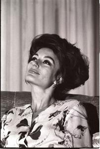 Anouk Aimée, 1970 ca.