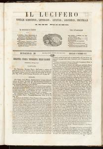 Il Lucifero : giornale scientifico, letterario, artistico, industriale (1847:A. 10, nov., 17, fasc. 36)