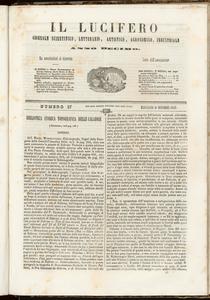 Il Lucifero : giornale scientifico, letterario, artistico, industriale (1847:A. 10, nov., 22, fasc. 37)