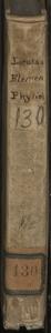Elementa physiologiae, juxta solertiora, notissimaque physicorum experimenta, et accuratiores anatomicorum observationes concinnata. Auctore Josepho Lieutaud ..