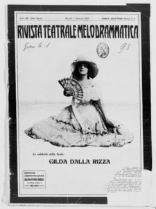 Rivista Teatrale Melodrammatica : giornale critico, musicale e d'annunzi fondato in Milano nel 1863 (1924:1-9)