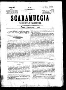Lo Scaramuccia : giornale teatrale (1855:19-76)
