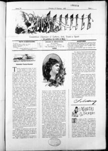 Lo Staffile : gazzettino di lettere, arte, teatri, societa' ecc. (1885:1-24)