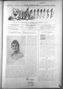 Lo Staffile : gazzettino di lettere, arte, teatri, societa' ecc. (1889:1-31)