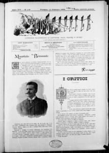 Lo Staffile : gazzettino di lettere, arte, teatri, societa' ecc. (1894:1-28)