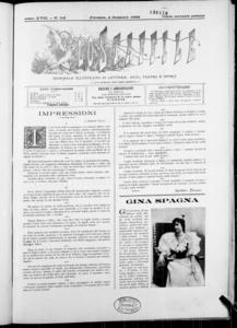 Lo Staffile : gazzettino di lettere, arte, teatri, societa' ecc. (1896:1-31)