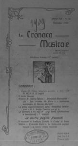 La cronaca musicale : piccola rivista di musica (1909:12)
