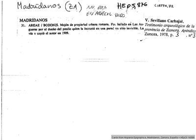 Inscripción hallada en Ocelo Duri