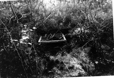 Plaats waar B.J.Lievers is gesneuveld op de Grebbeberg aan de weg naar Rhenen in mei 1940