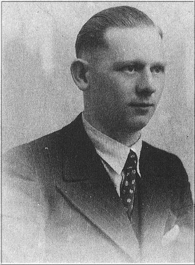 Herman Huinink, geboren 5 januari 1920, gesneuveld 31 maart 1945. Uit het boek Aalten in Oorlogstijd van J.G. ter Horst