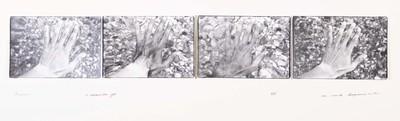 Serie van 4 foto's. Andros 10 december 1976. Oplage 4/35. 1976.