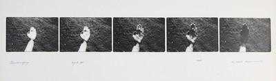 Serie van 5 foto's. Chancevigney 24 juli 1976. Oplage 20/35. 1976.