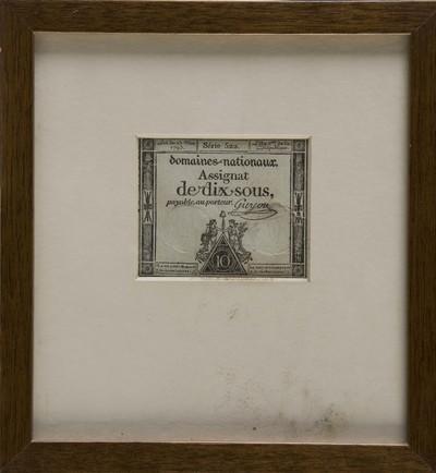 Assignat van papier, uitgegeven ten tijde van de Franse overheersing