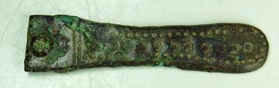 Frankische riemtong uit de 7e eeuw.