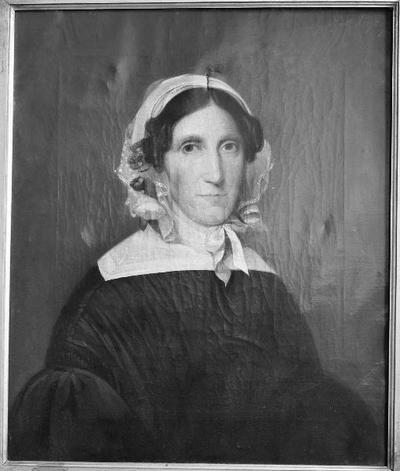Schilderij met een portret van Neeltje Kuyk-Buitendijk, moeder van de schilder.