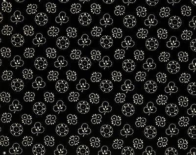 Detailopname stipwerk voor de zware rouw, 1964-1965