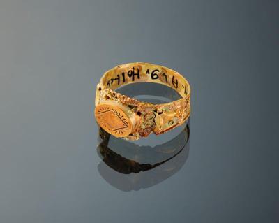 Gouden ring, Holten, circa 1915