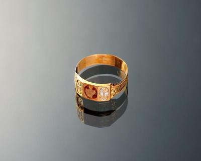 Gouden ring, Hindeloopen, 1814-1906