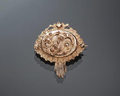 Zilveren broche, Kampereiland, 1906-1950