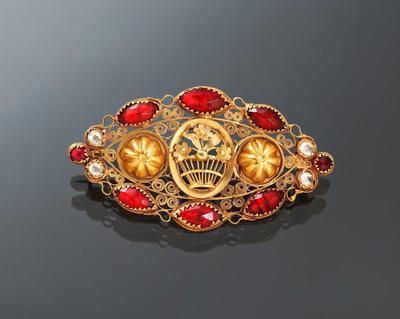 Gouden broche, Friesland, 1830-1840